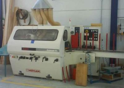 Maquinaria Fábrica de Muebles Hnos. Ramírez Jiménez en Lucena