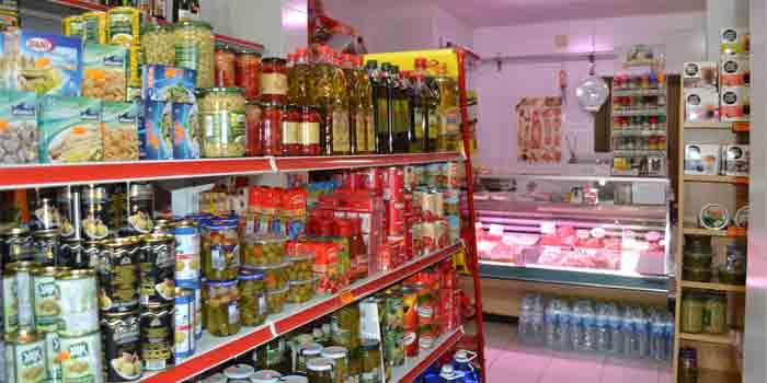 Comestibles en Lucena