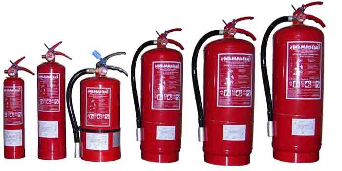 Extintores en Lucena