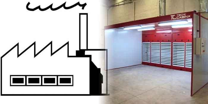 Fábricas de Cabinas de Pintura en Lucena