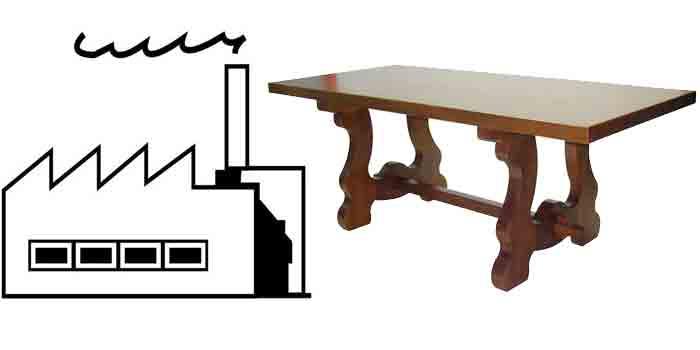 Fábricas de Mesas en Lucena