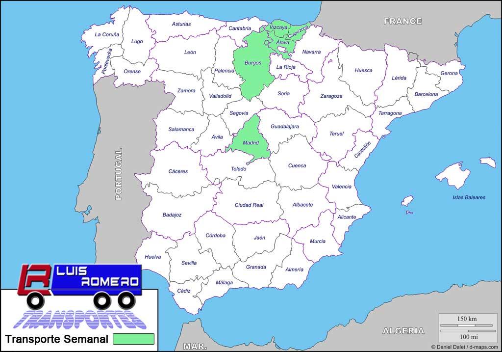 Mapa Transportes Luis Romero