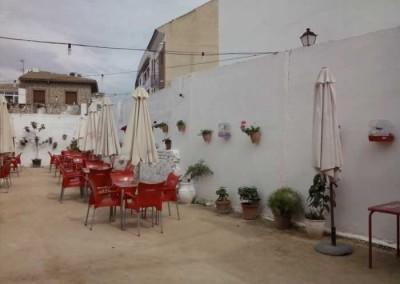 Terraza Restaurante Mesón El Cortijo en Lucena