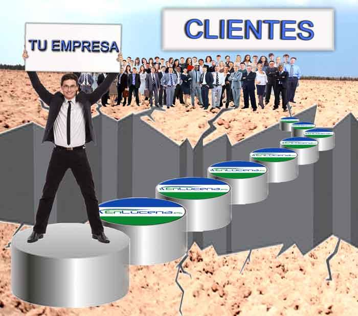 EnLucena.es, es el puente entre tu cliente y tu empresa