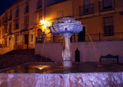 Plaza Bar La Cruz de la Barrera en Lucena