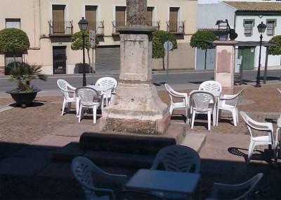 Terraza Café Bar La Cruz de la Barrera en Lucena
