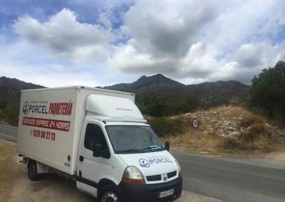 Camión 4 Transportes y Mudanzas Porcel en Lucena