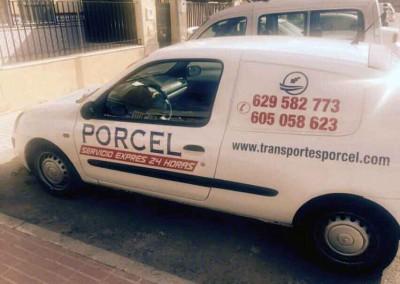 Paquetería Urgente Transportes y Mudanzas Porcel en Lucena