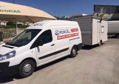 Paquetería Transportes y Mudanzas Porcel en Lucena