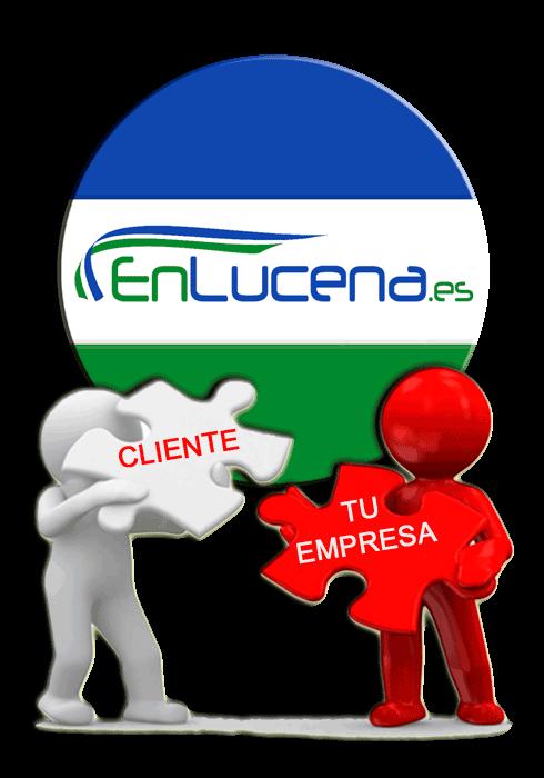 Usuario con un Problema o una Necesidad + EnLucena.es = Un Cliente para tu Empresa.