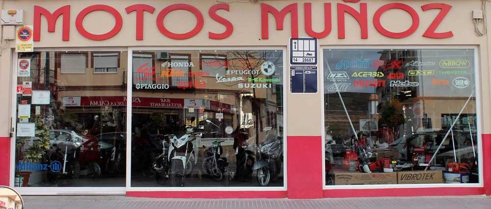 Tienda Motos Muñoz en Lucena