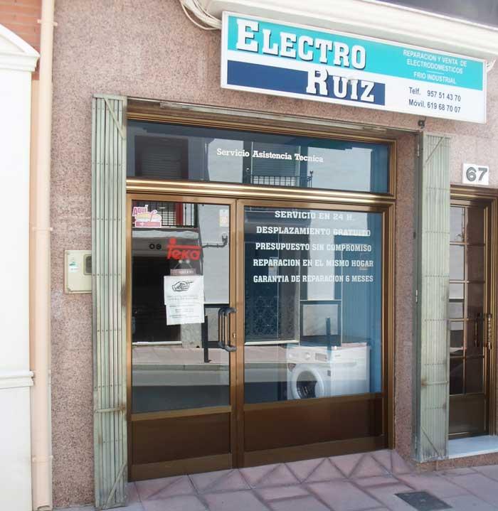 Electro Ruiz, Reparación de electrodomesticos