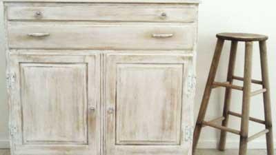Patinado y Glaseado de muebles
