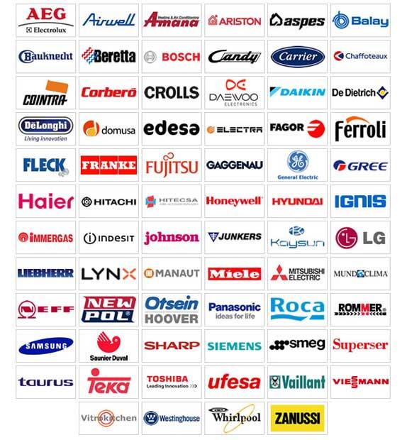 Reparación de Electrodomésticos todas las marcas