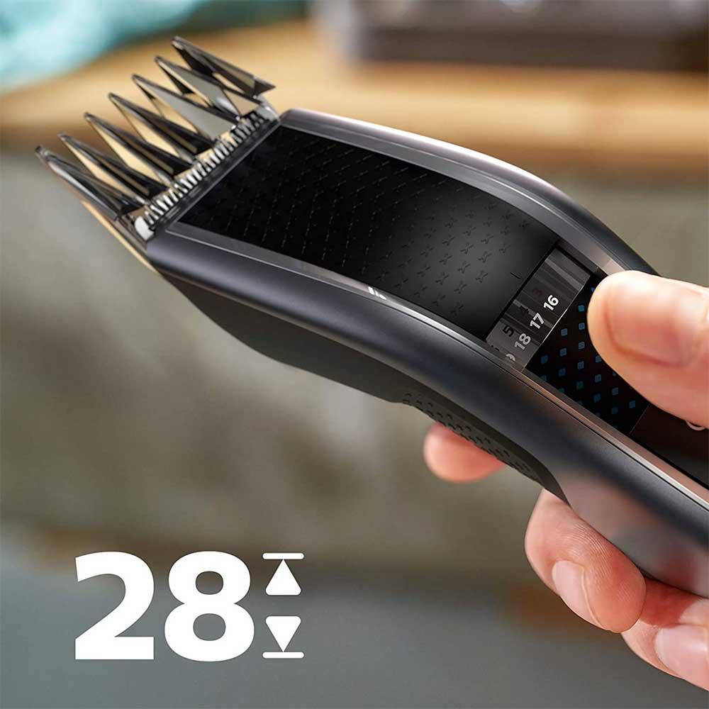 Ajuste de longitud de corte de pelo