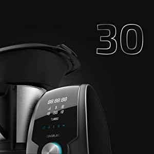 Robot de cocina Cecotec Mambo 7090. 30 funciones