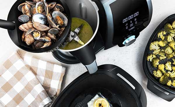 Robot de cocina Cecotec Mambo 7090. 4 elaboraciones a la vez