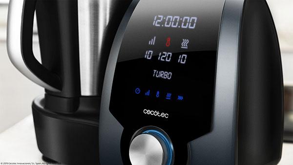 Robot de cocina Cecotec Mambo 7090. Potencia calórica inteligente