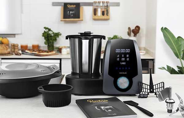 Robot de cocina Cecotec Mambo 7090. Rendimiento en bajas y altas velocidades