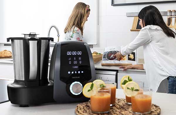Robot de cocina Cecotec Mambo 7090. Sinfín de recetas